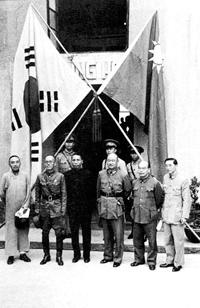 二战中蒋介石曾援助韩国抵抗日本侵略