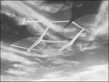 """放飞""""风筝""""捕风发电(组图)图片"""