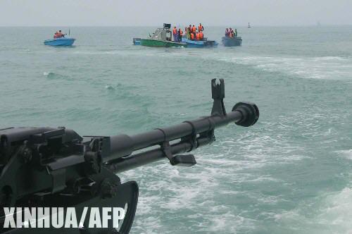 伊朗在波斯湾举行大型军演 多型武器令人关注
