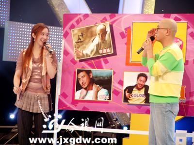 台湾美女许慧欣近期做客《明星面对面》