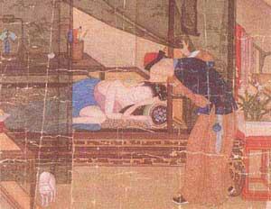 春宫画不怀好意 清代(已被焚毁)-性文化 看古代春宫画的演变图片