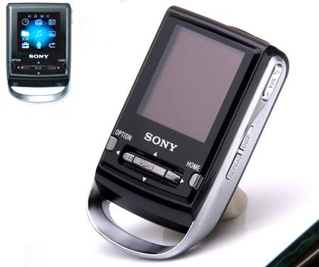 SONY推出首款彩屏MP3 512MB 999元