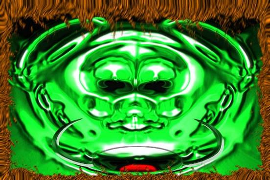 天极设计在线_Photoshop滤镜快速打造异形怪物头像
