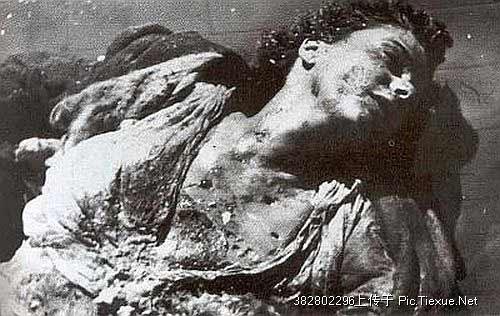 墨索里尼和他的情妇佩塔奇最后的日子