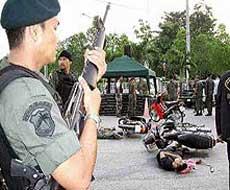 泰国南部发生暴乱