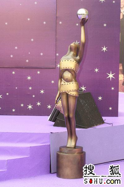 第25届金像奖:金像奖奖杯雕像