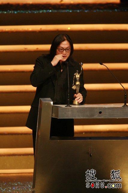 第25届香港金像奖:发表获奖感言