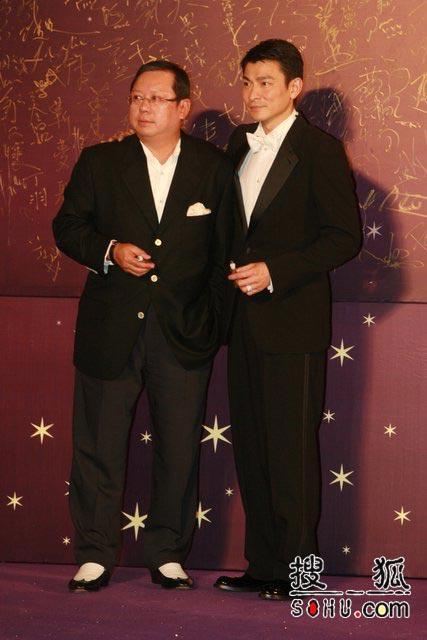 第25届香港金像奖:热门影帝刘德华大气出场
