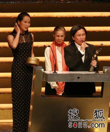第25届香港金像奖:陈可辛代领奖发表感言