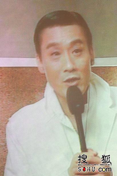 最佳男主角梁家辉通过大屏幕发表获奖感言