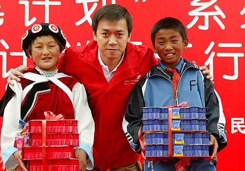 """上海通用雪佛兰启动""""红粉笔""""爱心计划"""