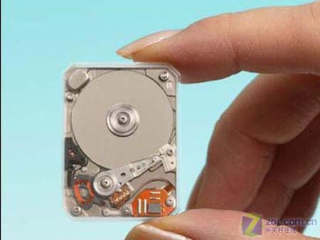 iAUDIO 6微硬盘大小