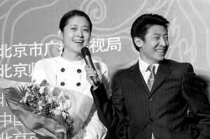 倪萍出席大学生电影节 劝央视主持莫轻易改行