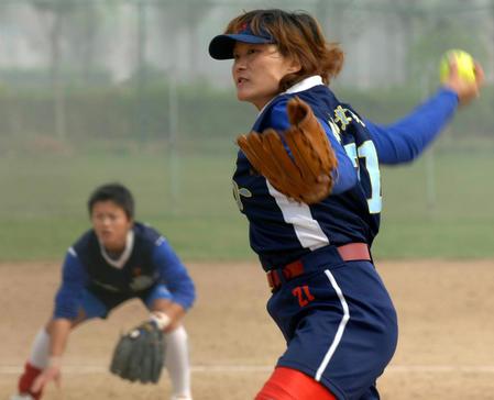 垒球:2006全国球员锦标赛中国图文张丽霞-搜狐帆船江苏体育能走多快图片