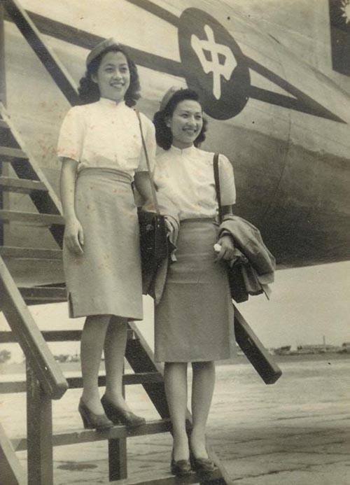 40年代的中国空姐