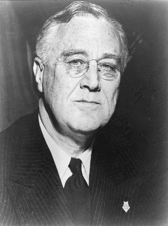 1945年4月12日美国总统罗斯福逝世