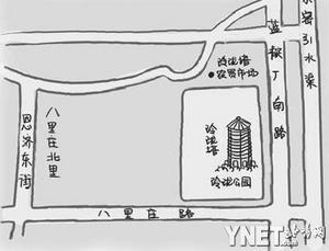 京郊玲珑塔与万历皇帝生母的故事
