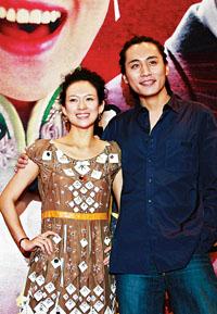 《茉莉花开》首映 章子怡想为中国电影做贡献