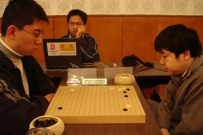 图文:2006围甲联赛第一轮 搜狐棋牌现场直播