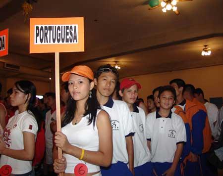 委内瑞拉华人运动会开幕 即席选美别开生面(图)