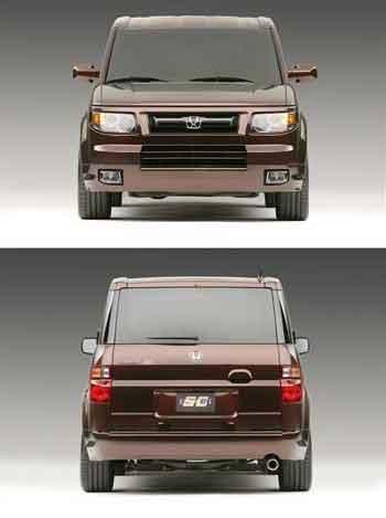 本田纽约车展发表新Element SC原型车(图)