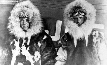 美国飞行员1926年首飞北极可能有假