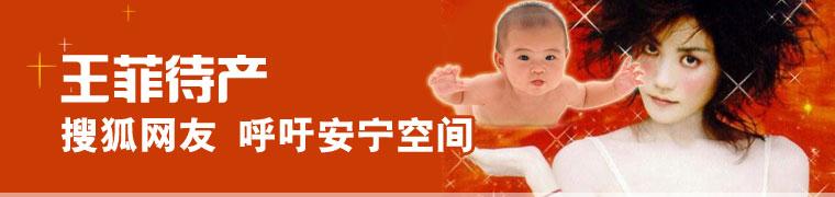 王菲待产 搜狐网友 呼吁安宁空间