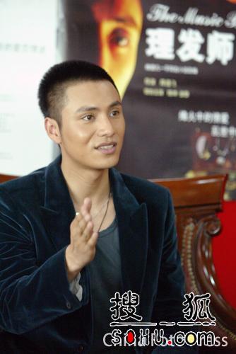 《理发师》超前首映 陈坤曾黎出席活动(组图)