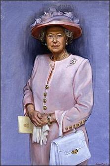 英国女王伊莉莎白二世最新八十岁画像曝光(图)