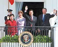 胡锦涛会谈称中美关系具有全球影响和战略意义