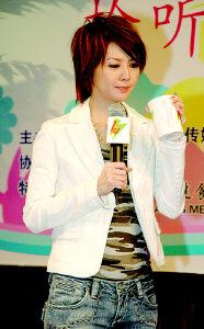 孙燕姿演绎电台台歌 表示最喜欢民谣风格(图)