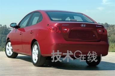 韩国现代汽车展出新款伊兰特高清图片