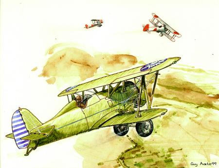飞虎队之前已有多国飞行员在华参战