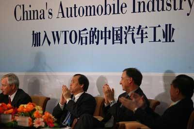 加入 WTO 后的中国汽车工业