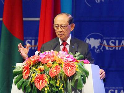 博鳌亚洲论坛理事长、菲律宾前总统拉莫斯致辞