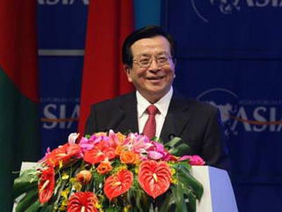 曾庆红为博鳌亚洲论坛 2006 年年会开幕式作主旨演讲