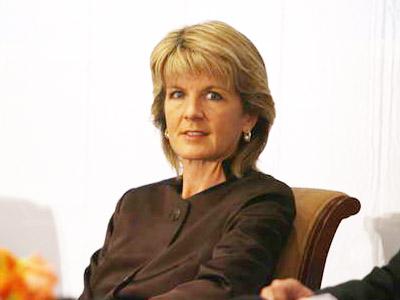 图:澳大利亚教育、科学与培训部部长朱丽·比肖璞