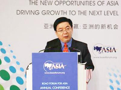 图:中国国务院发展研究中心副主任李剑阁