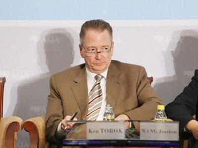 图:UPS 亚太区总裁肯·托罗