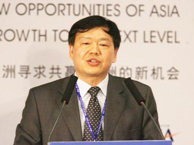 图:中国信息产业部副部长娄勤俭