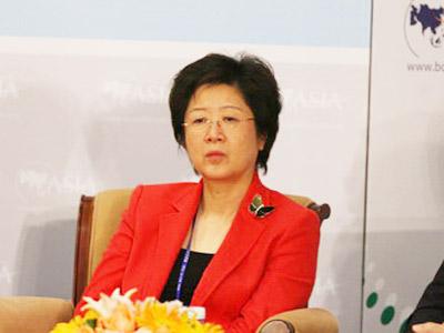 图:联想集团首席财务官马雪征