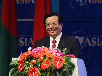 图:中华人民共和国副主席曾庆红