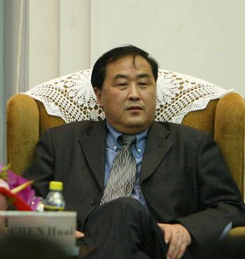 图:中国 建设部政策研究中心主任陈淮
