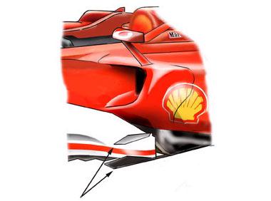 圣马力诺周六技术分析 MP4-21缩短风翼提高车速