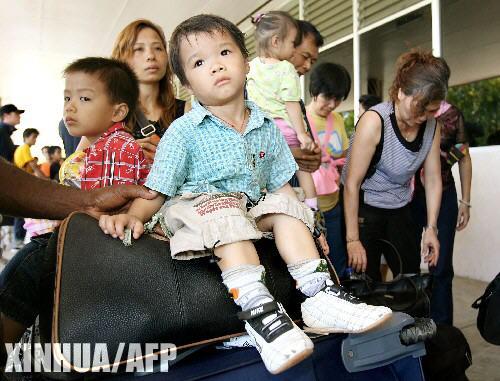 组图:我国政府已从所罗门撤出249名华侨华人