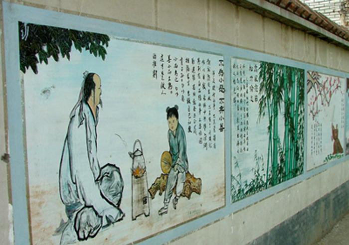 组图:河南新乡刘庄村民别墅