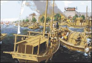 历史上朝鲜舰队唯一一次主动进攻日本