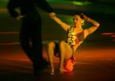 图文:48届世乒赛团体赛开幕式 上演激情舞蹈