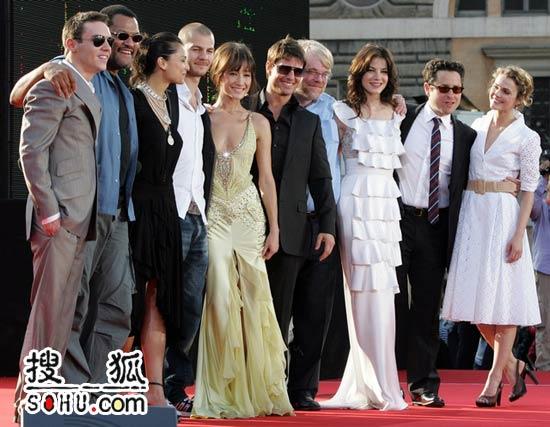 众星出席《碟中谍3》全球首映 克鲁斯成焦点