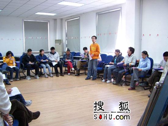 《梦想中国》沈阳赛区:评委组海选场地